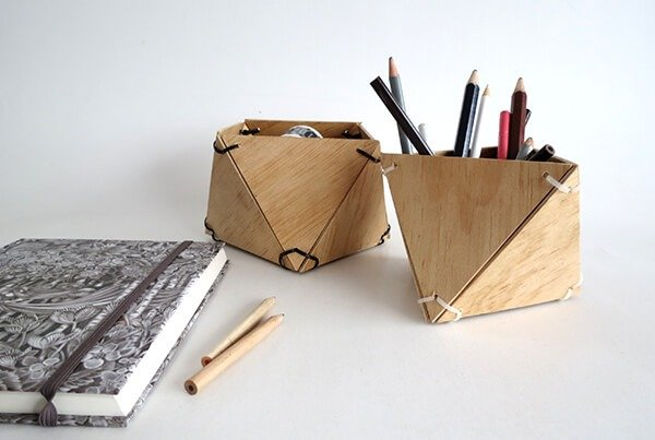 And that's it! You can use them as pencil holder or small storage.