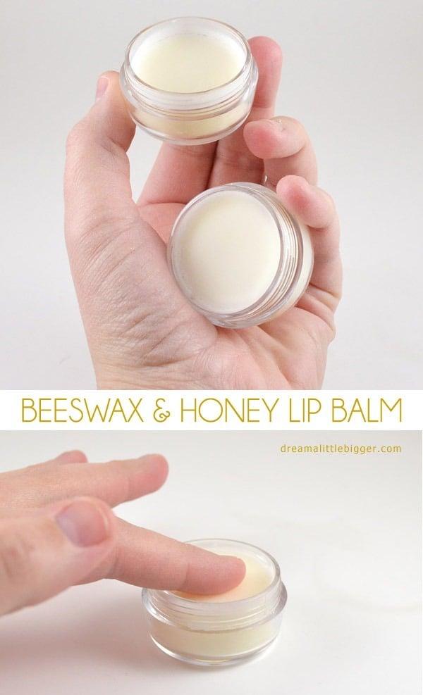 Beeswax & honey lip balm by Dream a little bigger