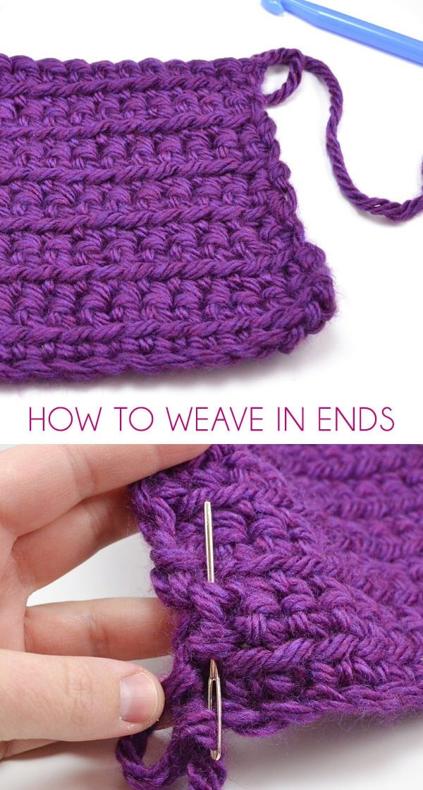 How To Weave In Ends Dream A Little Bigger