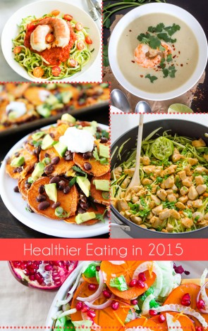 Join me on my mission to cook and eat healthier in 2015!