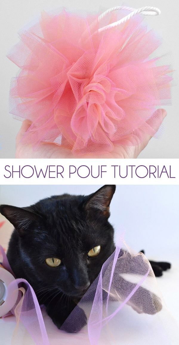 Shower Pouf Tutorial