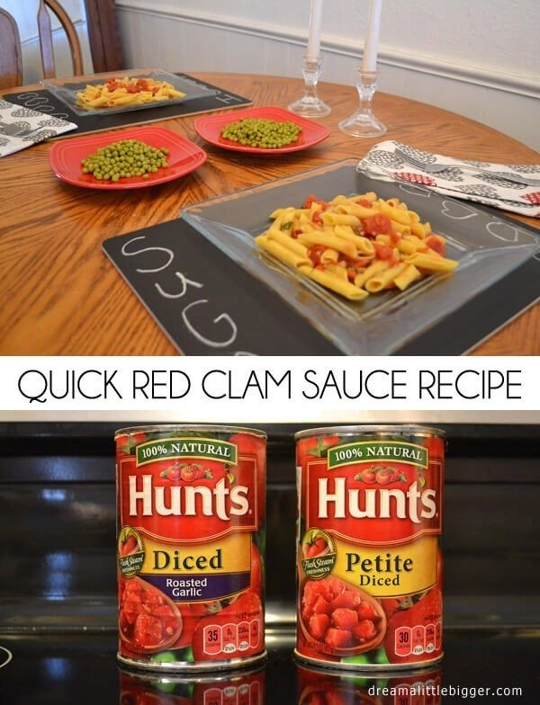 This red clam sauce is super easy to make and fabulously quick! A true 30 minute meal!