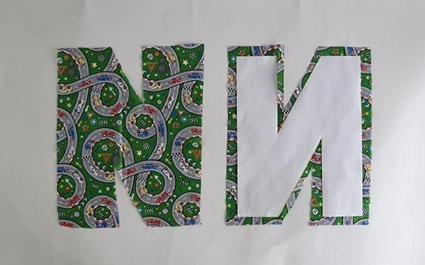 letter cushion tutorial 4