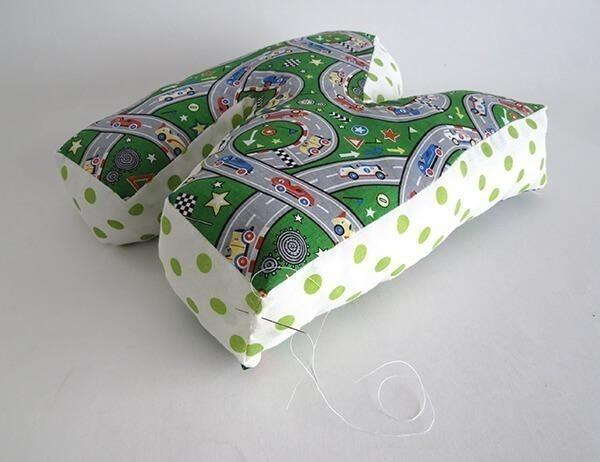 letter cushion tutorial 9