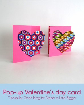 pop up valentine's day card 1