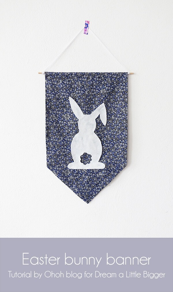 diy easter no sew banner 11