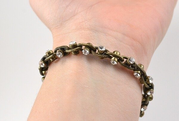 You don't need any jewelry making experience to make a a quick stack of arm candy!