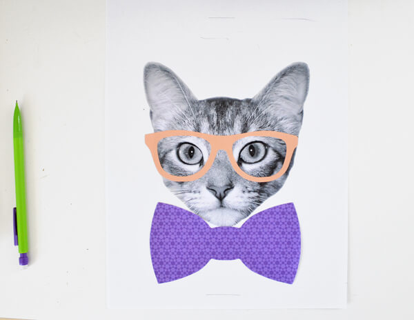 Dress up photos of your pets! Make these fun pics to hang on your walls!