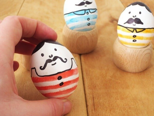 20 last minute Easter eggs are all truly last minute. So cute! So easy!
