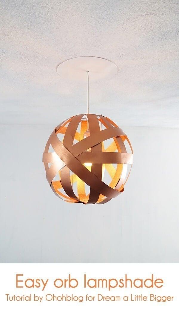 easy diy orb lampshade ohohblog 1