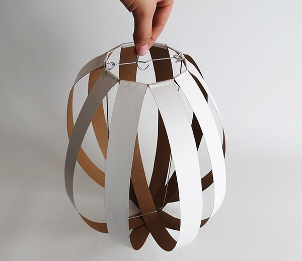 easy diy orb lampshade ohohblog 7