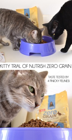 Kitty Tested Nutrish Zero Grain Cat Food