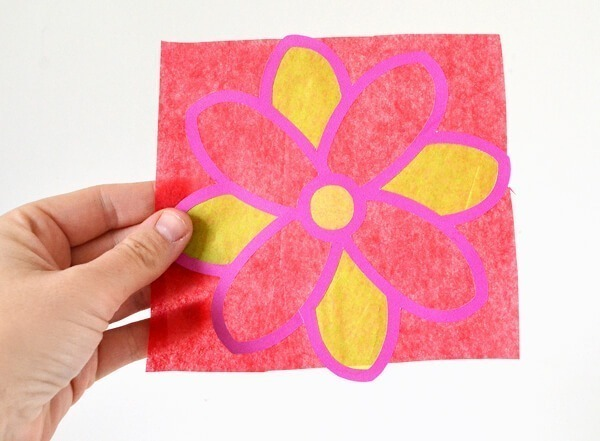 Pretty up your windows on the cheap with paper sun catchers. Tons of fun to make and you can get the littles involved!