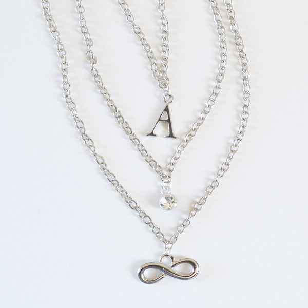 Make perfectly personal necklaces that can be stacked however you please!