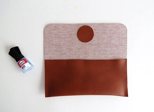diy leather sunglasses case ohohblog 5