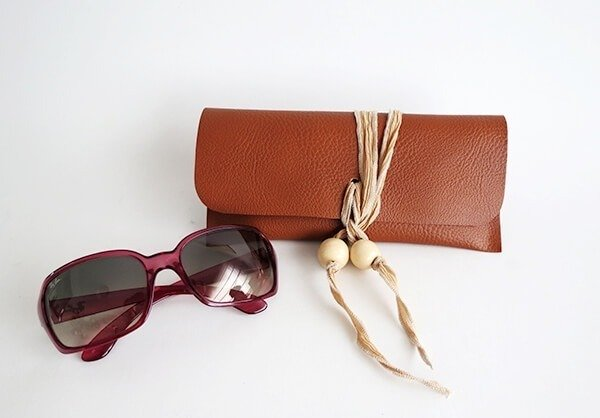 diy leather sunglasses case ohohblog 8