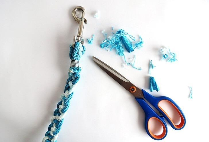 how to make a braided dog leash ohohblog 9