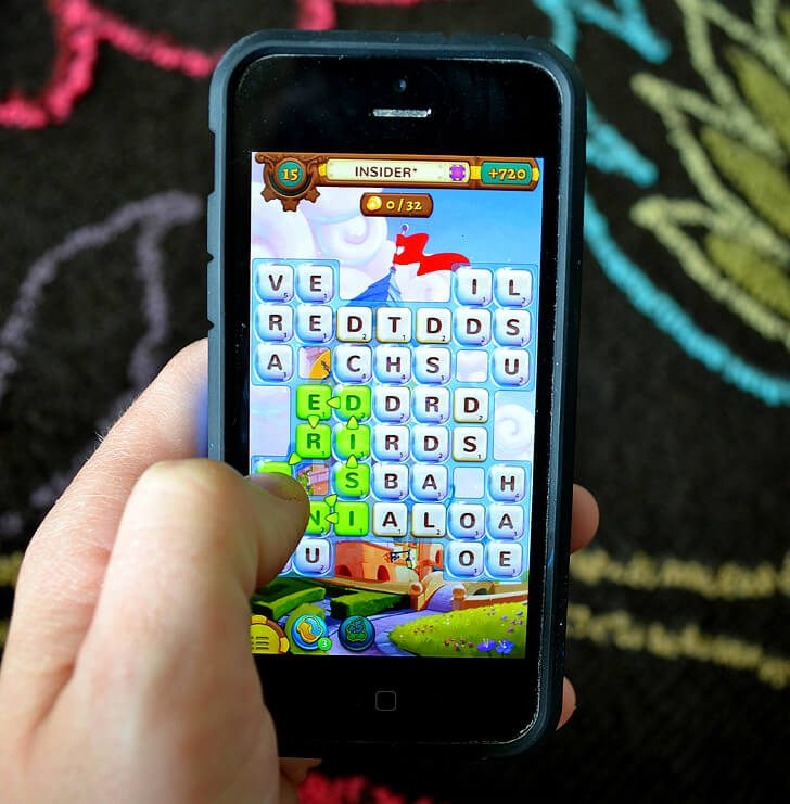 Word games can improve spelling and vocabulary. Alpha Betty is a fun way to keep busy while travelling and will help that travel spelling while you're at it!