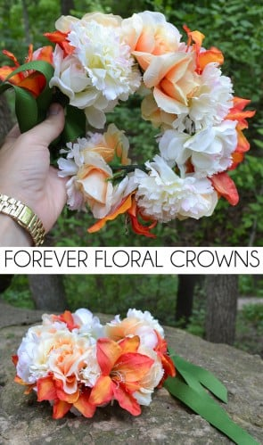 Make flower crowns that will literally last forever!
