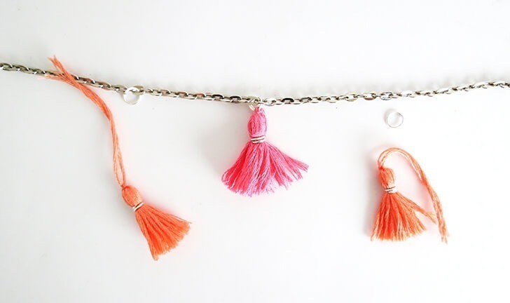 how to make a tassel bracelet by ohohblog 8