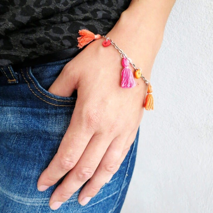 how to make a tassel bracelet by ohohblog cw