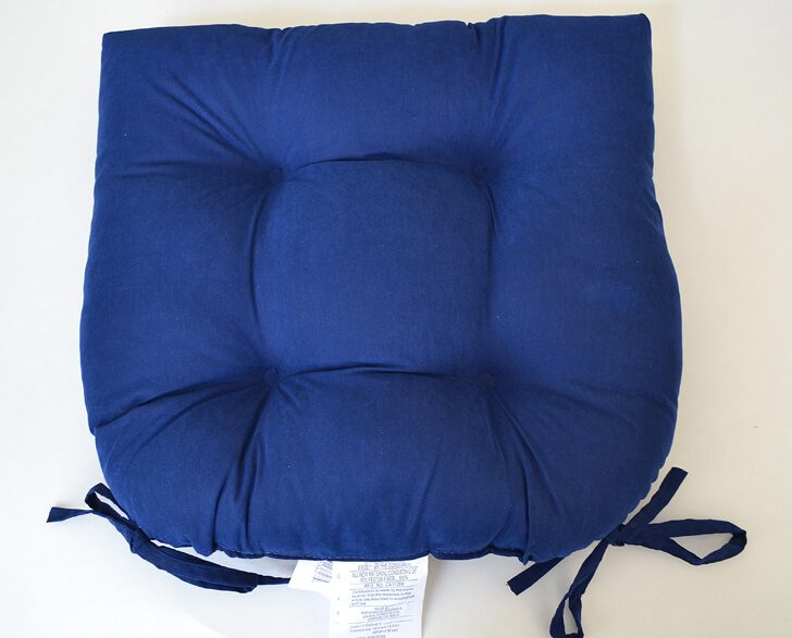 Easily turn any chair cushions into no slip cushions. Why spend more for no tie strings when you can DIY for so much cheaper?