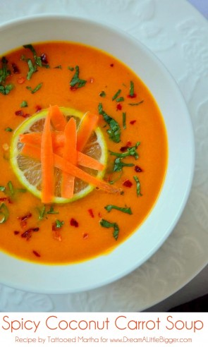 Tattooed Martha - Spicy Coconut Carrot Soup (0)