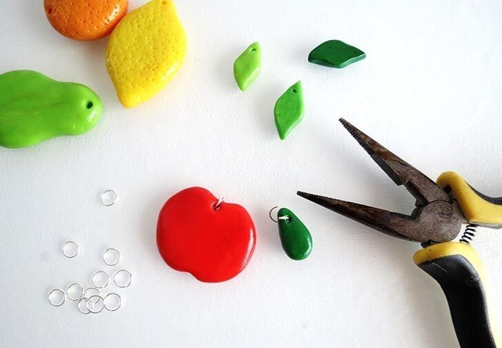 diy clay fruit keychain ohoh blog 14
