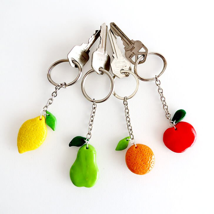 diy clay fruit keychain ohoh blog 18 small cw