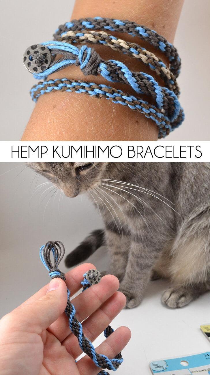 Hemp Kumihimo
