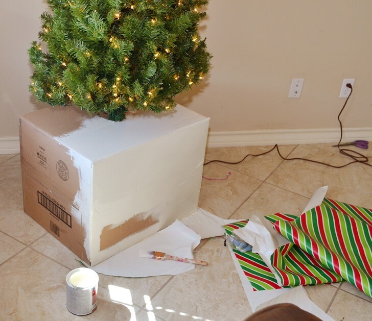 Keep Cat Away From Christmas Tree: Sturdy Christmas Tree Base Cover