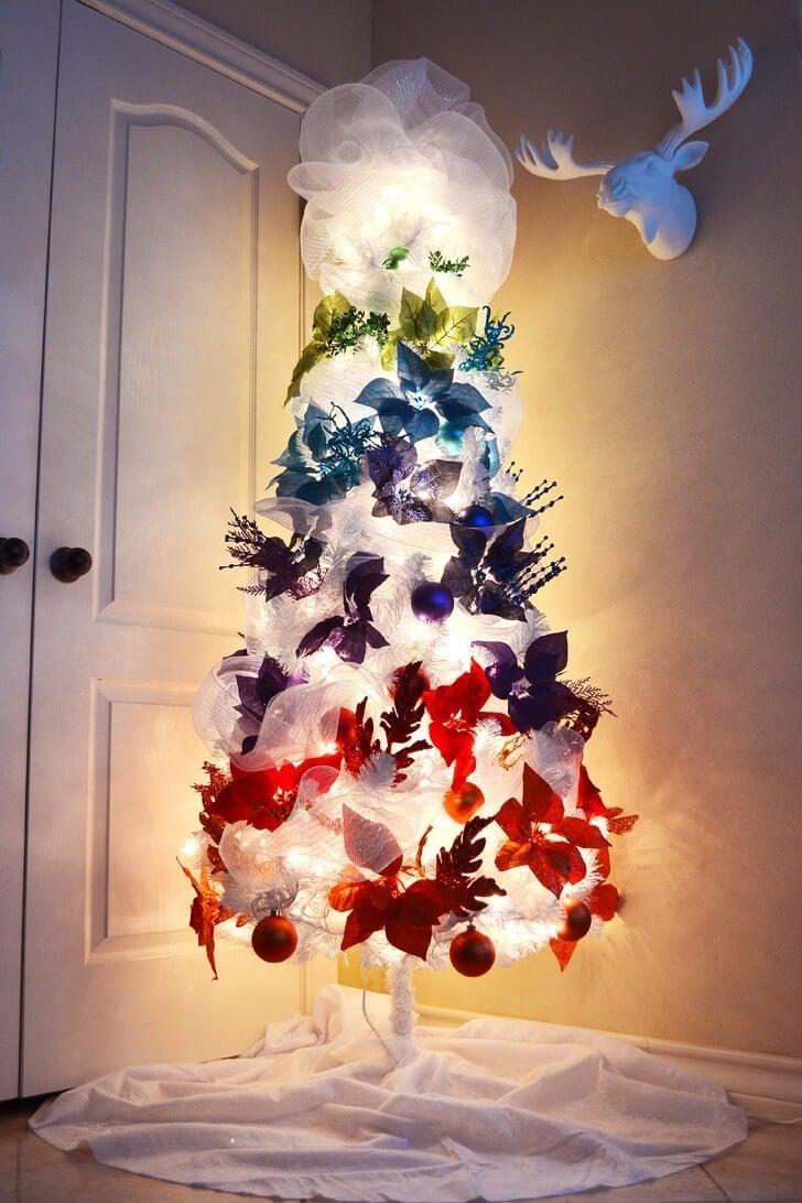 blackrainbow christmas trees - photo #36