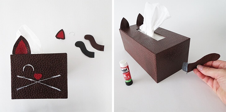 diy tissue box cat cover ohohblog 11