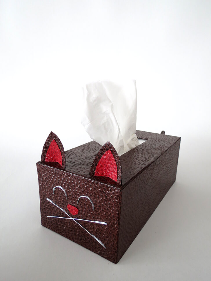 diy tissue box cat cover ohohblog 13