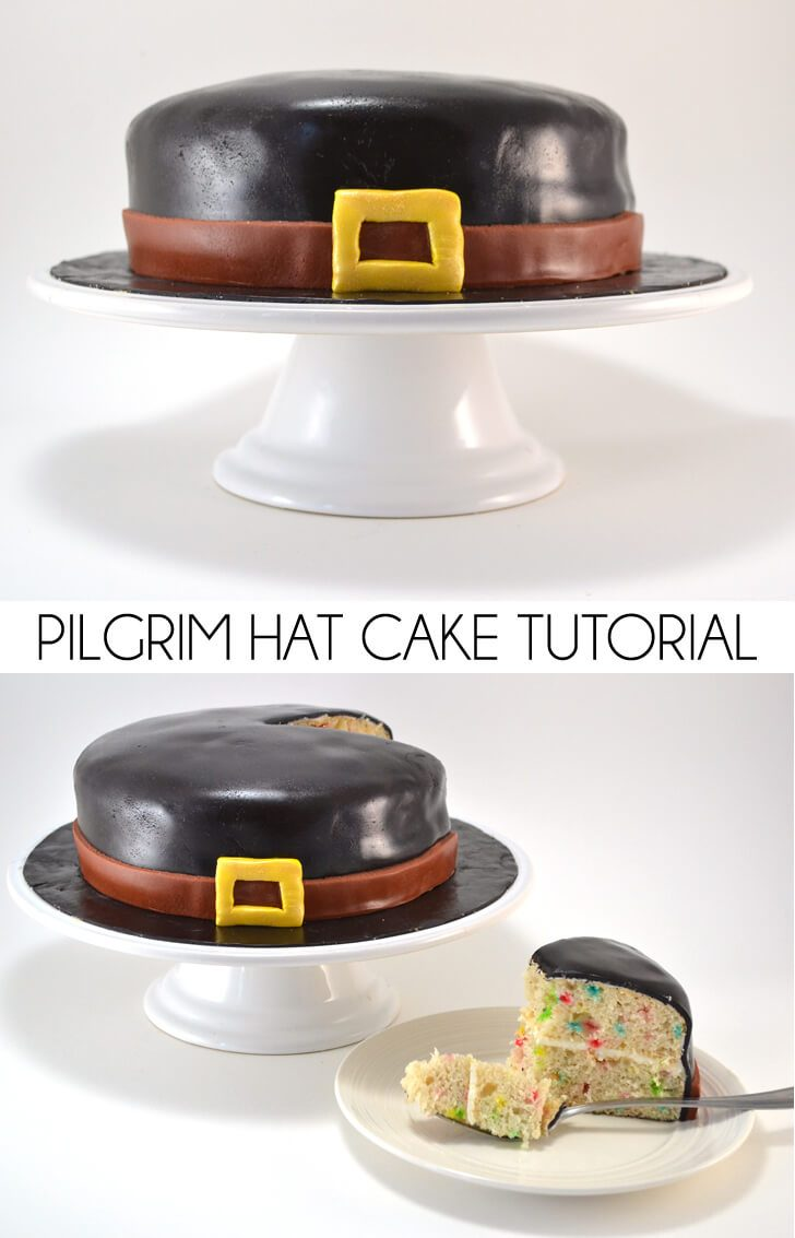 Pilgrim Hat Cake Tutorial