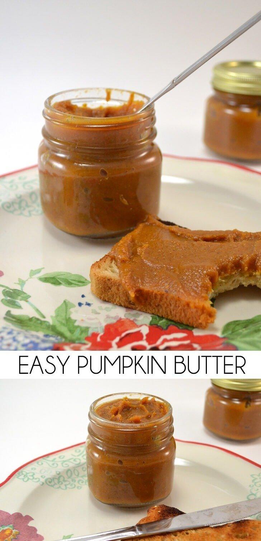 If you love pumpkin pie you'll love this easy pumpkin butter recipe.