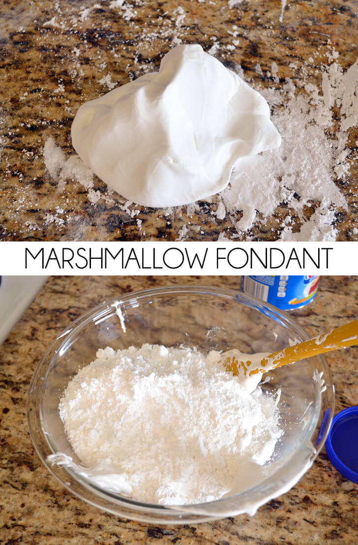 How to make marshmallow fondant at home. I didn't realize it was so easy!