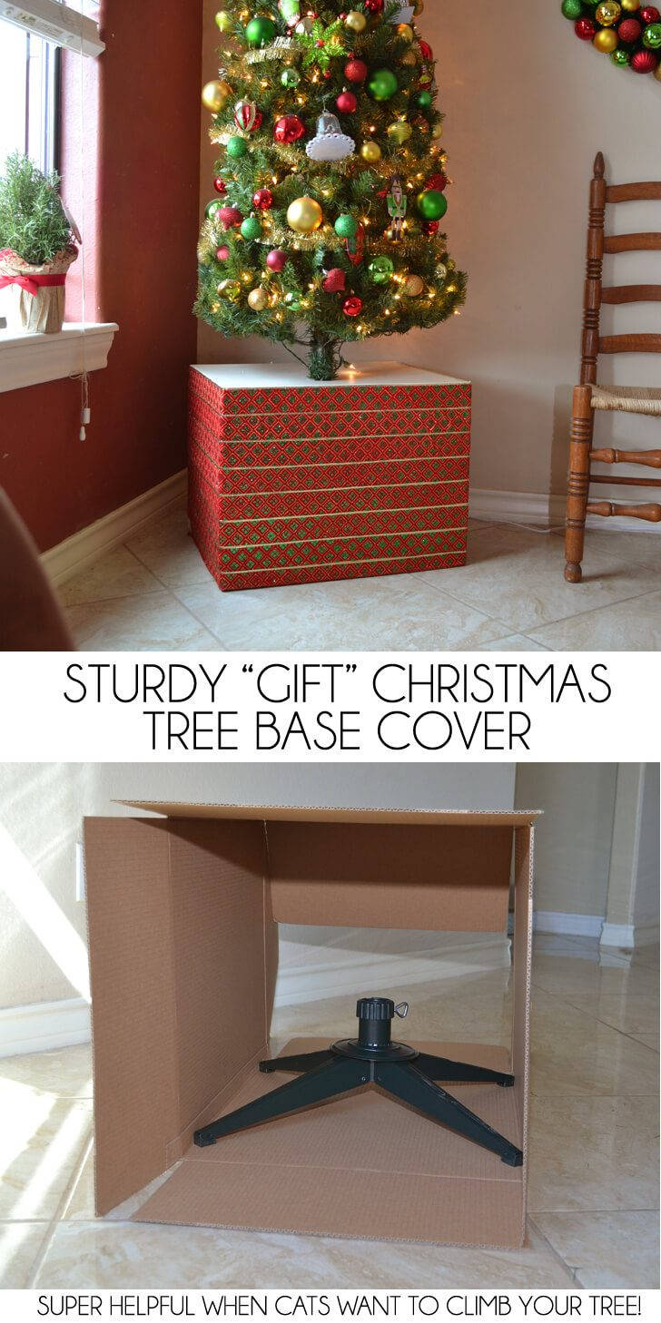 Sturdy Christmas Tree Base Cover Dream A Little Bigger