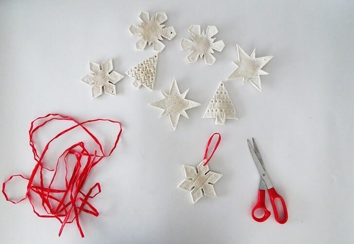 salt dough christmas ornament 6