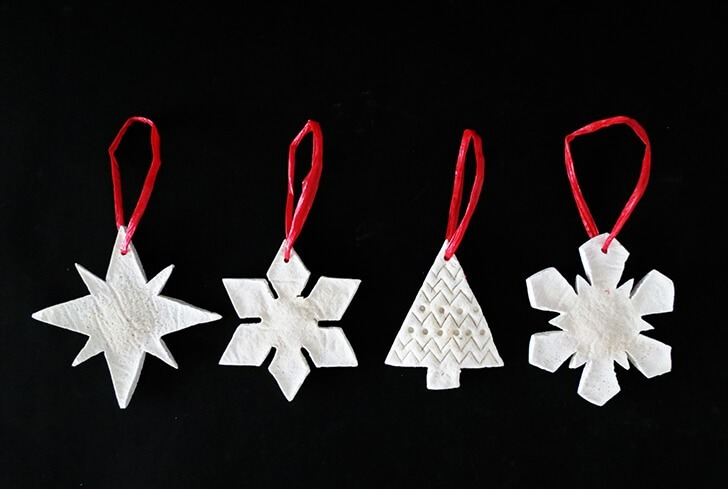 salt dough christmas ornament 7
