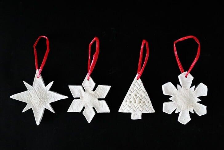 salt dough christmas ornament 7