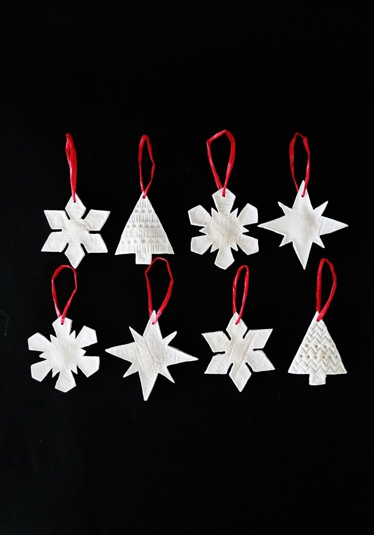 salt dough christmas ornament 9