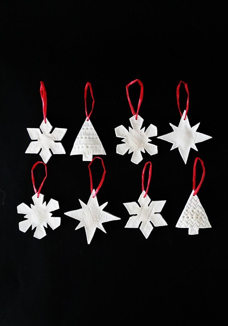 salt dough christmas ornament 9