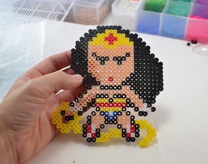 These Perler bead superheroes make amazing Christmas ornaments! The kids will want to get involved too!