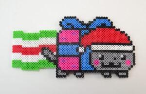 Perler bead Nyan Cat!