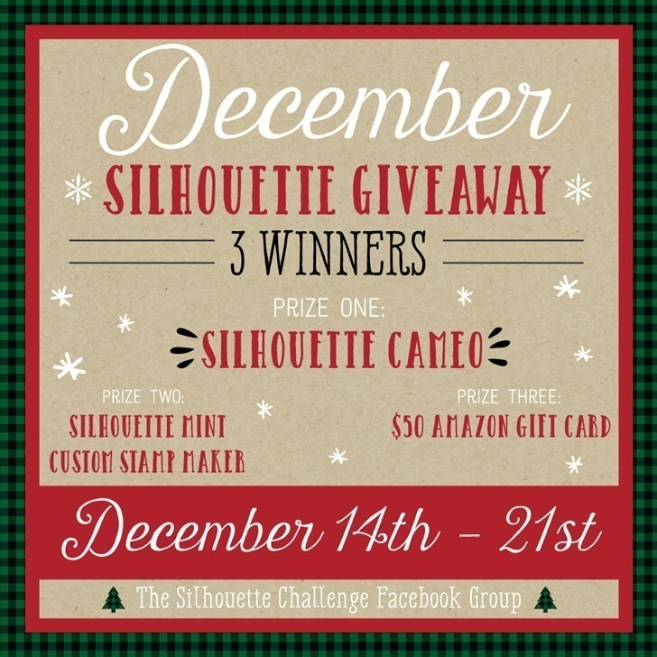Enter to win great Silhouette prizes! THREE winners!