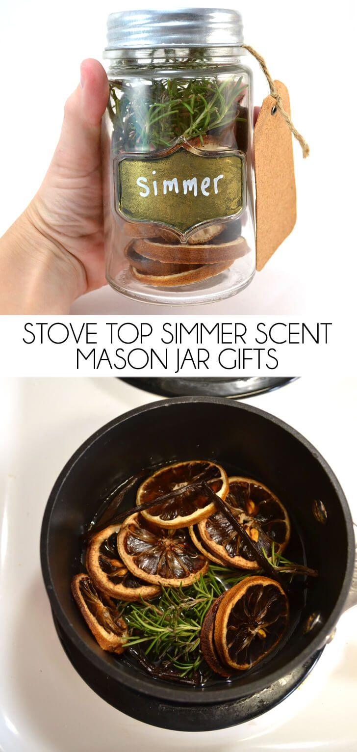 Stove Top Simmer Scents in a Jar Gift