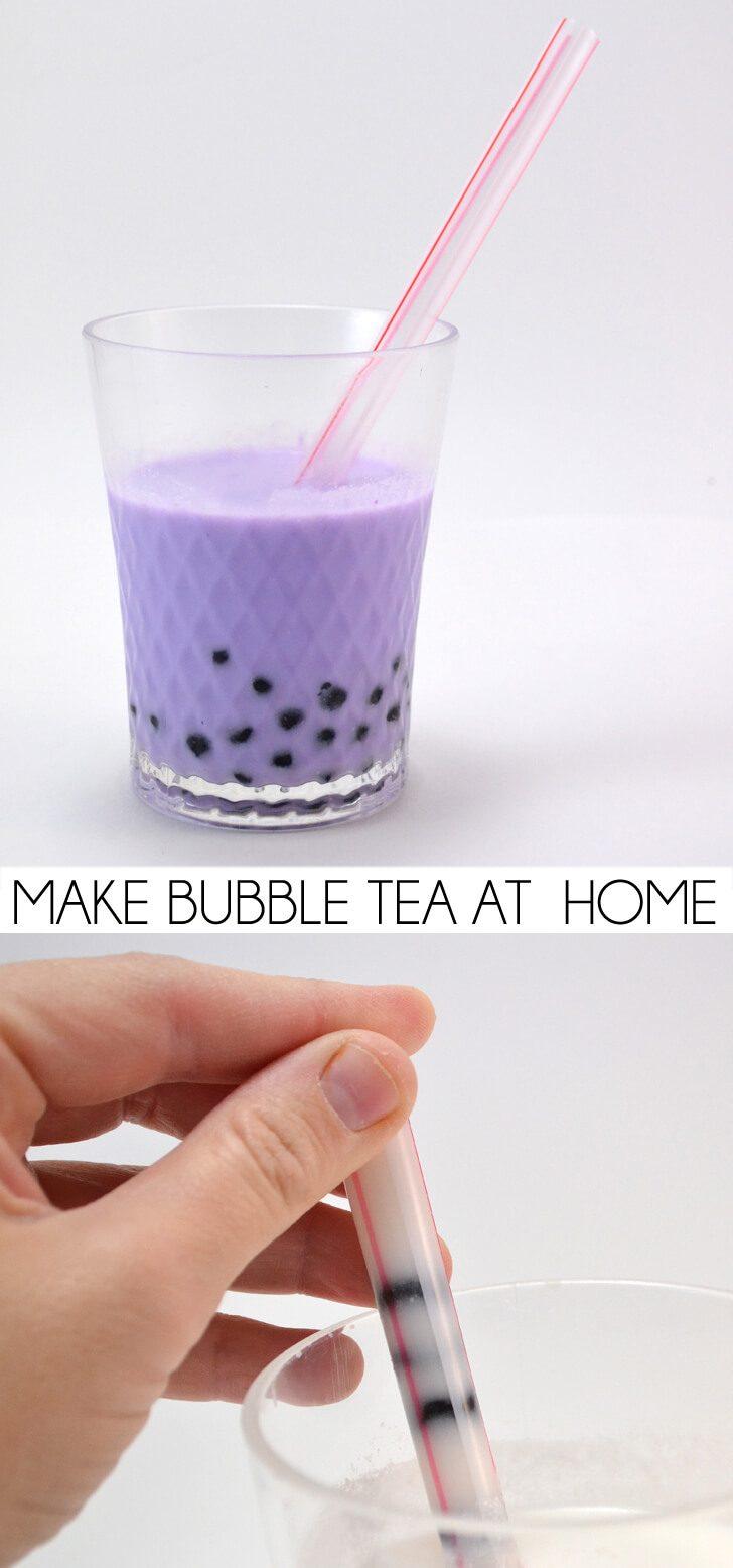 Make Bubble Tea at Home
