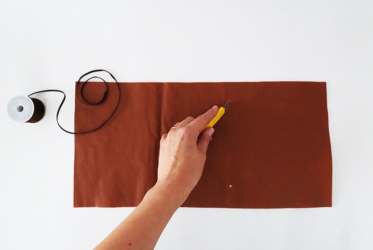 diy leather notebook cover 4