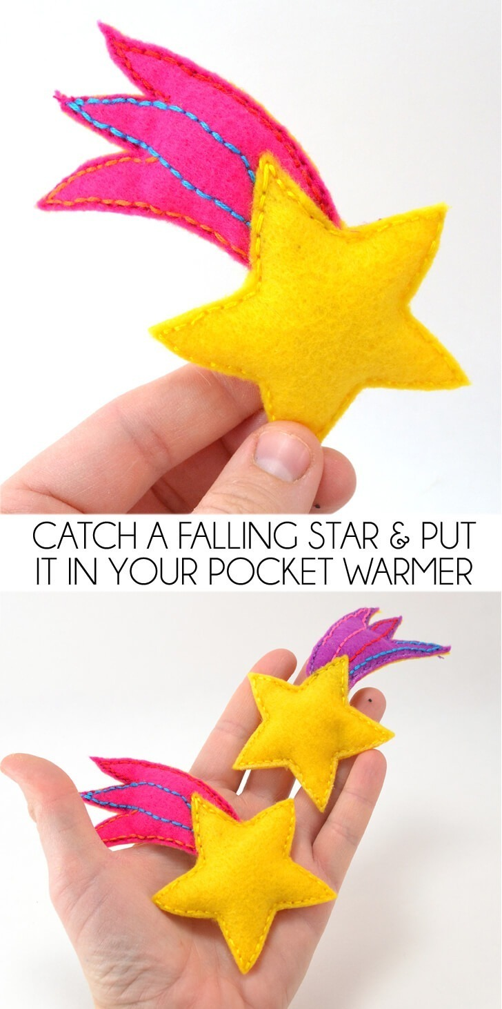 I love that song :) Catch a falling star and put it in your pocket warmers! (never let it fade away :)